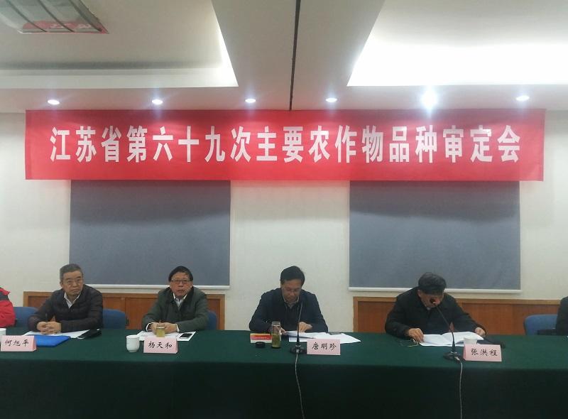 省德赢网址站组织召开第六十九次农作物品种审定会议